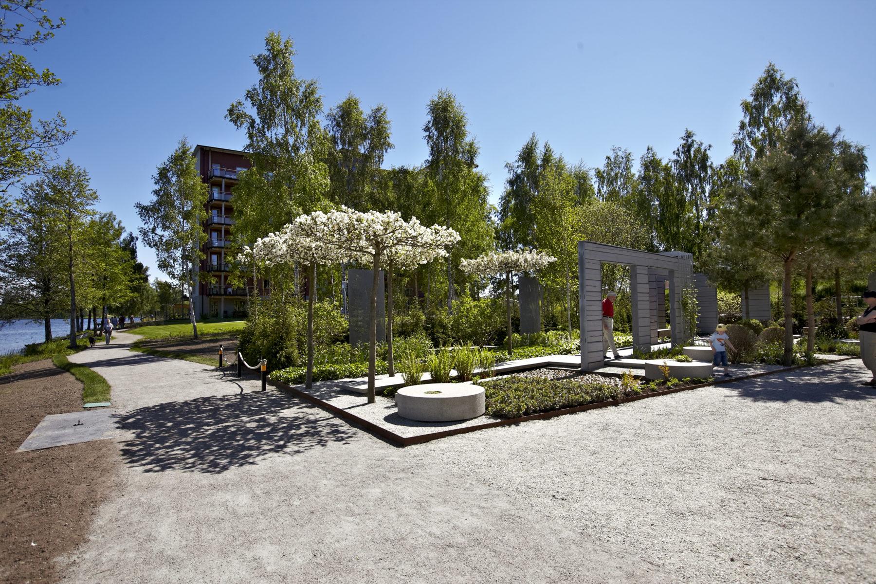Linneträdgården Växjö / Ulf Nordfjell, photographer Mats Samuelsson